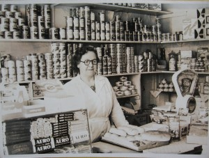 Grandma Betty Youlden's Shop early 1960s