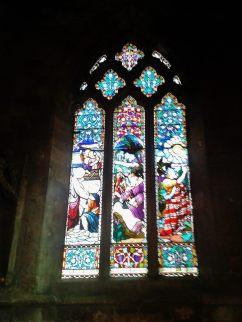 Morris window Knaresborough Parish Church