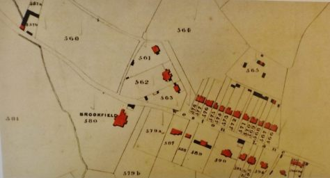 1849 Tithe Apportionment Map Weston (Bath Record Office)