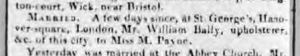 1806 Marr Ann Wm Bally Upholsterer Bath Chronicle 5 Jun