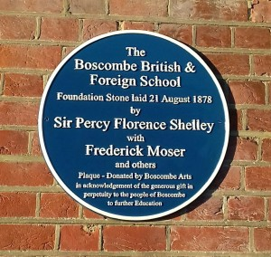 Blue Plaque at Old School House
